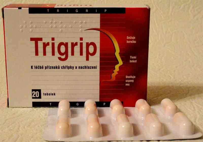 Trigrip (Тригрип) капсулы от гриппа