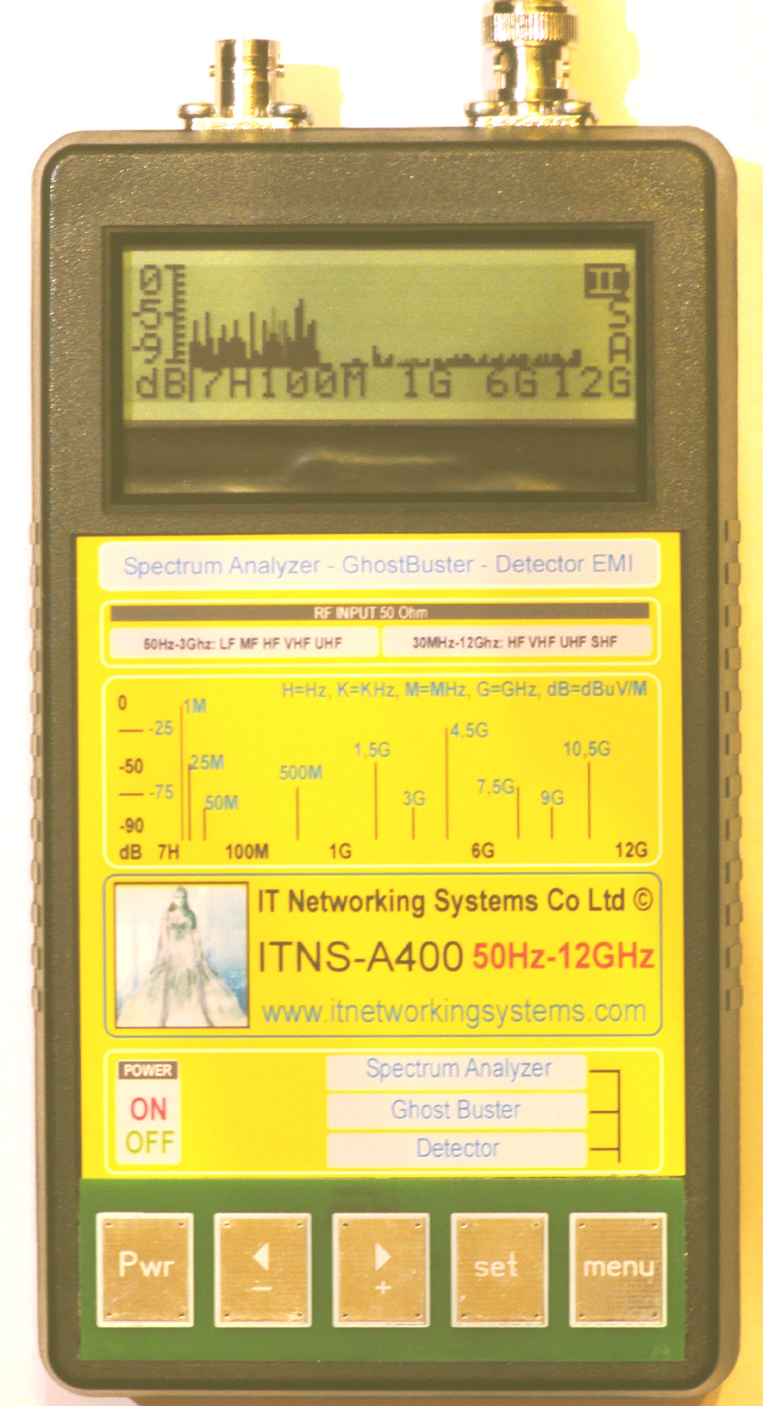 ITNS-A400 анализатор спектра