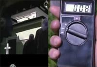 Детектор электромагнитного излучения. видео